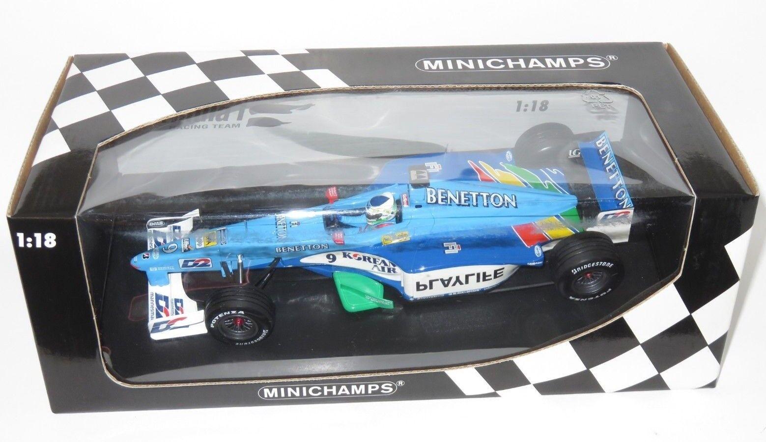 al precio mas bajo 1 1 1 18 Benetton Jugarlife B199 1999 temporada GianCochelo Ferrari  mejor vendido