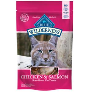 Blue-Buffalo-Wilderness-CHICKEN-SALMON-Cat-Treat-2-oz-Healthy-Holistic-Grain-Fre