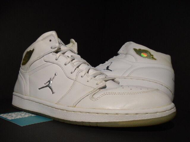e50f9e5ffc 2002 2002 2002 Jordan I Retro 1 Nike Air Platino Plata Blanco Gris frío  Original 306000