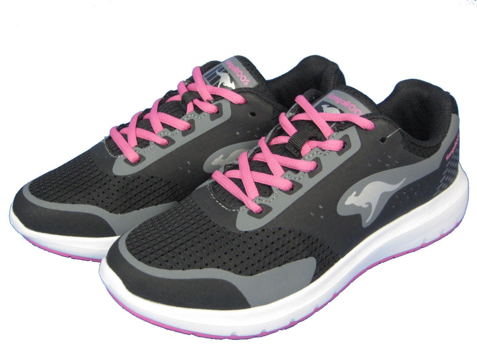 Kangaroos Ladies shoes Sneaker Running shoes START ONE 38401 Magenta Black Pink