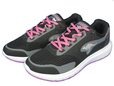 Kangaroos Ladies Shoes Sneaker Running Shoe Start One 38401 Magenta Black Pink | eBay
