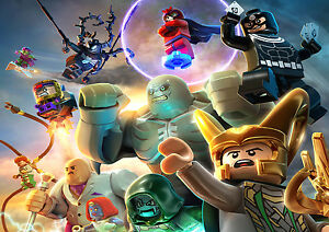 A4 A3 A2 disponible Los Vengadores Lego Poster-A5