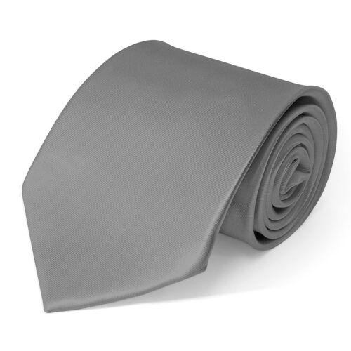 Una classica Cravatta Incl istruzioni larga molti colori Satin cravatta