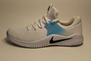 b5f9f489b8d6 Nike Free Trainer V8 Training Shoe White Black Lagoon Pulse Size 13 ...