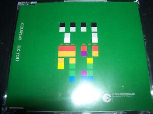 Coldplay-Fix-You-Rare-Australian-3-Track-CD-Single-Like-New
