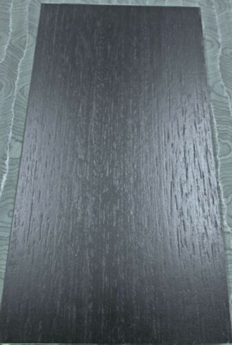 "Black Ebony composite wood veneer 24/"" x 24/"" raw no backing 1//42/"" thickness roll"