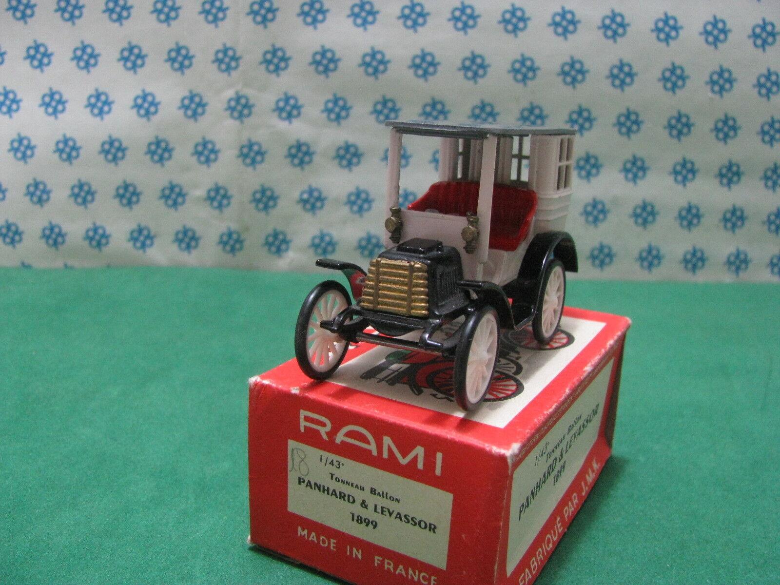 Vintage Rami N° 18 - - - Panhard & Levassor Tonneau Ballon 1899-1 43 France 6b934d