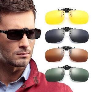 mode-verre-Polarise-UV400-avec-Clip-Lunettes-de-soleil-lunettes-de-conduite-jour