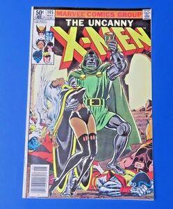 UNCANNY-X-MEN-145-1981-MARVEL-COMIC-DR-DOOM-VF