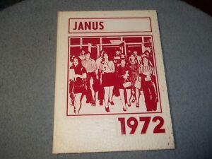 1972-DELSEA-REGIONAL-HIGH-SCHOOL-YEARBOOK-FRANKLINVILLE-NJ-JANUS-NO-WRITING