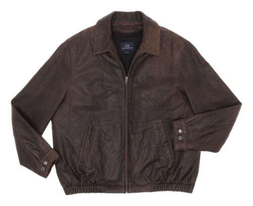 Vintage BROOKS BROTHERS Leather Flight Jacket L La
