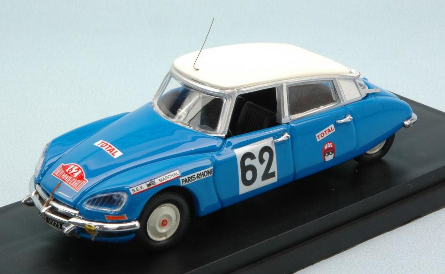 Citroen DS 21  62 Accident Monte Carlo 1970 Salomon   Saintigny 1 43 Model RIO