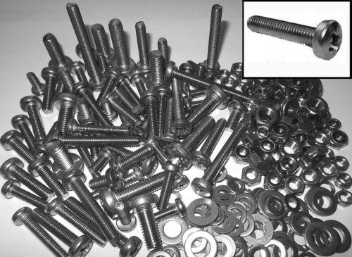 Bolt kit Stainless Steel Bolts Nuts /& Washers Mini-moto Mini-bike Monkey-Bike