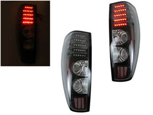 Image Is Loading Depo Black Led Tail Lights Fit 04 05