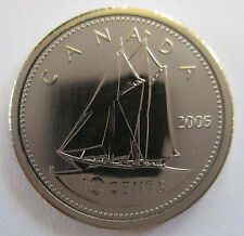 2005P CANADA 10 CENTS SPECIMEN DIME COIN
