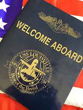 USS LOUISVILLE SSN-724 VIP Presentation Package Pearl Harbor Attack Submarine