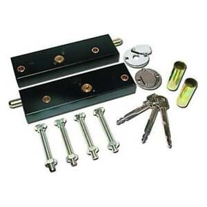 Garage-Door-Bolt-Locks-for-Extra-Security-One-Pair-Operated-On-Same-Key