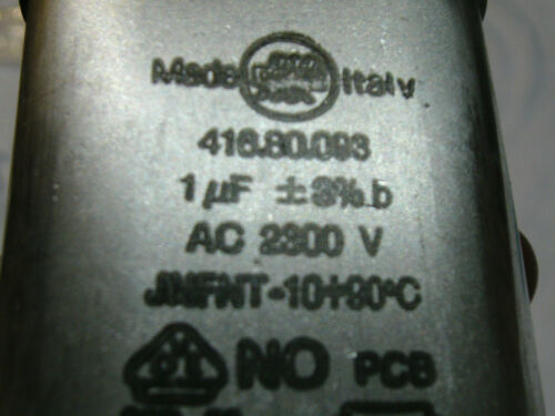 Condensateur de el15d 416.80.093 ac2300v 530//04 u64458