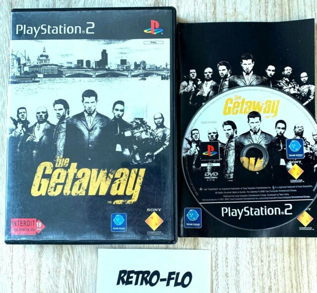 The Getaway - Jeu Sony Playstation 2 PS2 Comme NEUF - PAL