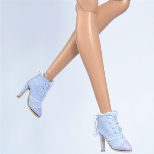 Shoes for Fashion royalty FR2 Nu Face 2 poppy parker Silkstone Light blue Boots