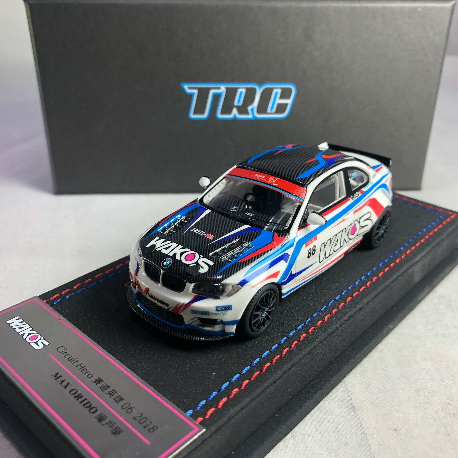 1 43 Peako BMW 1M Circuit Hero 2018 MAX ORIDO Drift Car