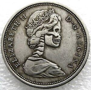 HCD-KANADA-Canada-Dollar-Muenze-1867-Special-Edition-Totenkopf-Skull-Hobo-Co