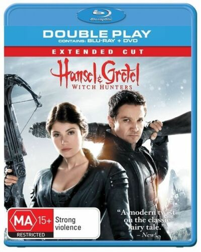 1 of 1 - Hansel & Gretel - Witch Hunters (Blu-ray, 2013, 2-Disc Set)