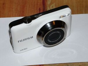 fujifilm finepix jv series jv300 14 0 mp digital camera white ebay rh ebay com