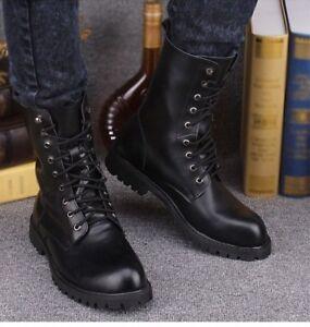 Mens Combat Boots Fashion