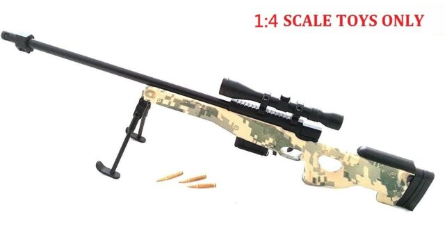 Toy Figure 1:6 Scale Metal Model AUG Rifle Camouflage AF-MC0018 Display ONLY
