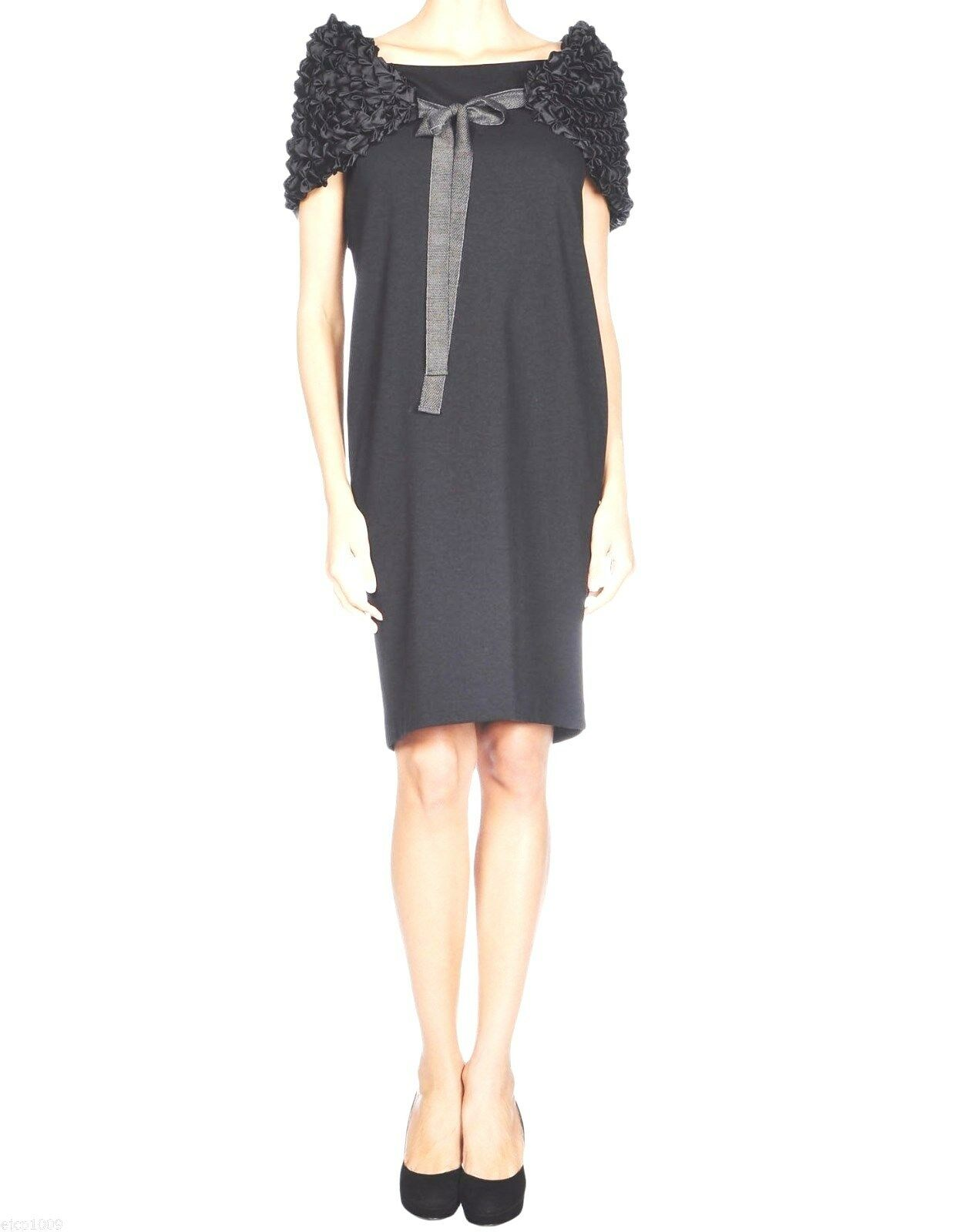 NWT Authentic LAVINIATURRA Jersey Dress, Italian 44   US 8, Made in