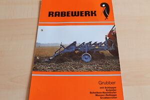Kataloge & Prospekte Erfinderisch 144477 Anleitungen & Handbücher Rabewerk Grubber Prospekt 02/1980