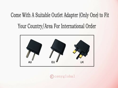 Global AC Adapter Charger For Flash2Pass Tap2Pass Receiver 101301 Power Supply