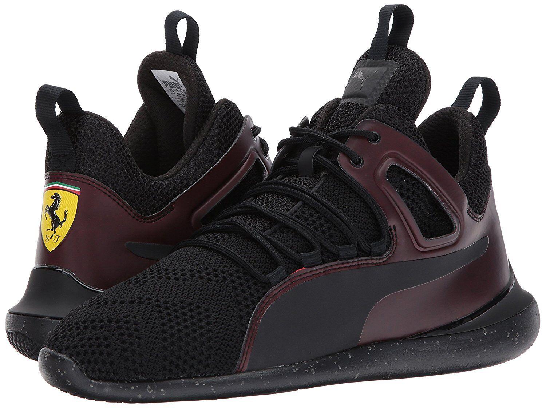 Men's Shoes PUMA SF Evo Cat Mid Transform Sneaker 306012-01 Black *New*