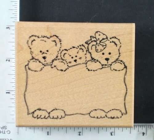 ANIMALS 6 CTMH//DOTS rubber stamp