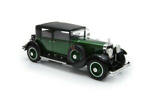 Esval 1/18 Resin Cadillac Series 341A Town Sedan in Green & Black