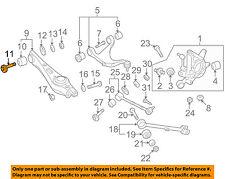 One New Meyle Suspension Control Arm Bushing Rear Lower Forward 1005050015