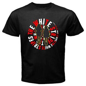 THE WHITE STRIPES Rock Alternative Rock Band Men's Black T ...