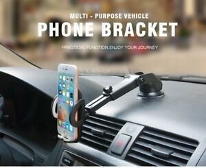 Universal Car Windshield Dashboard Mount Suction Cup Holder For Cell Phone  709445100763