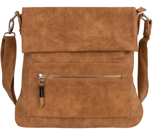 6b50205164c0c Bag Street DAMENTASCHE Umhängetasche Handtasche Schultertasche T0103 ...