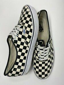 Vans Authentic Checkerboard Shoes men's