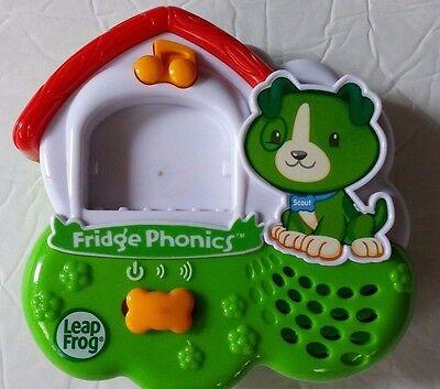 Leap Frog Fridge Phonics Magnetic Alphabet Scout Dog Electronic Learning System