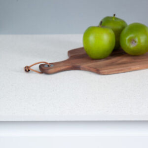 Solid White Terrazzo Compact Laminate Ultra Thin 12mm Slimline Kitchen Worktops Ebay