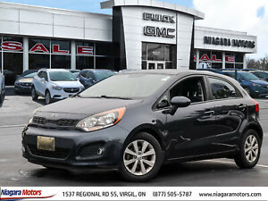 2013 Kia Rio LX Hatchback - Just ARRIVED - SUPER LOW KMS - Well CARED-FOR - Locally OWNED and SERVICED - Won't LAST!!
