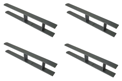 4 Stück H-Anker 91mm Pfostenträger Pfostenanker Betonanker Carport Pfostenschuh