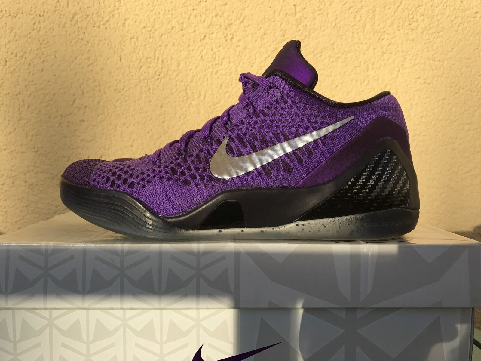 Nike Kobe 9 IX Grape ELITE Moon walk Hyper Grape IX EU42 US8,5 Lila *protro mamba ftb htm 604ed0