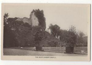 Cardiff-Castle-The-Keep-Vintage-RP-Postcard-178c