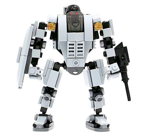 MyBuild Patented Block Building Toy Base Defender Bricks to Fantastic Robot
