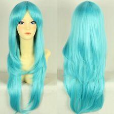 Magi: The Labyrinth of Magic Yamraiha Yamuraiha Blue Green Cosplay Hair Wig E055