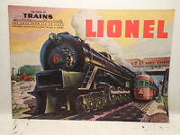 Original Postwar Lionel 1948 Catalog In Mint Condition